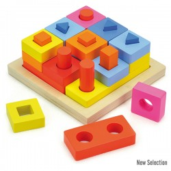 PUZZLE SHAPE BLOCK STACKING