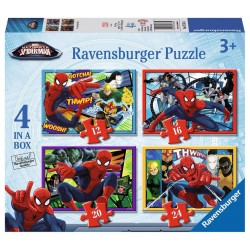 PUZZLE ULTIMATE SPIDERMAN 4 IN A BOX