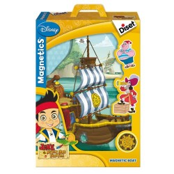 JACK AND THE NEVER LAND PIRATES. MAGNETIC BOAT