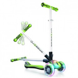 PATINETE PLEGABLE MY FREE FOLD UP VERDE CON LUCES